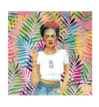 Prints & Postcards: Frida K Print Square