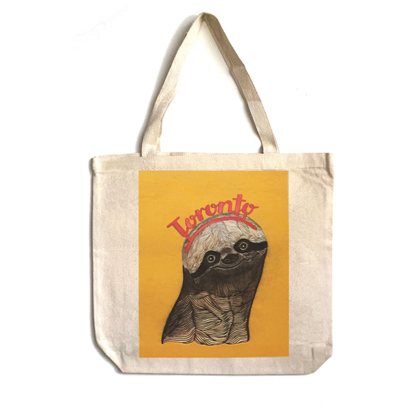 Tote Bag: Sloth Toronto