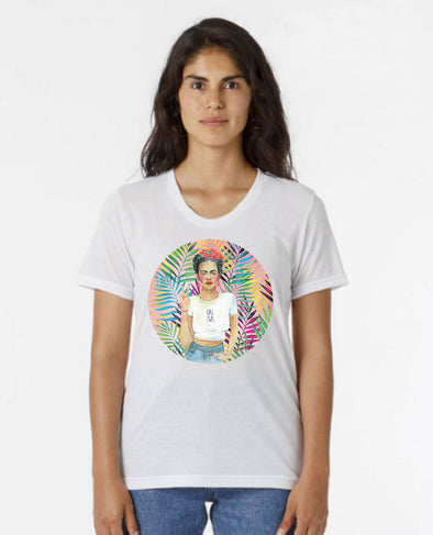 T-shirt: Ladies Top Frida K