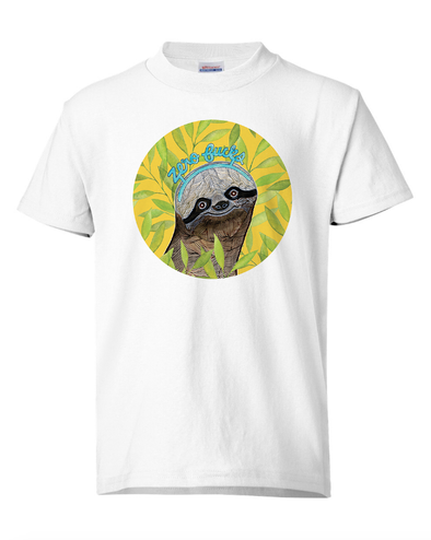 T-shirt: Sloth Zero Fucks