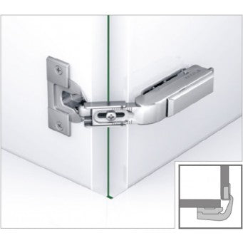 TIOMOS Pie-cut Corner Hinge Dowel press fitting (F045138518)