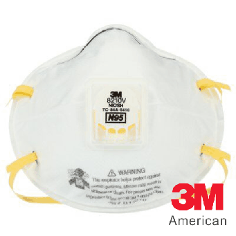 3M Particulate Respirator N95, 10pcs (Face Mask) - 3MS8210V