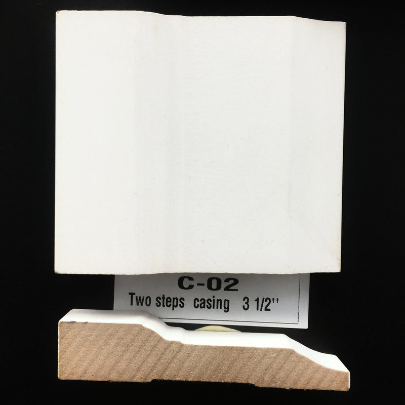 Molding: C-02 Two Steps Casing 3-1/2""