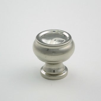 K-62123 Knob - Oil Brushed /	Satin Nickel Finished (Diameter 27 x H31mm)
