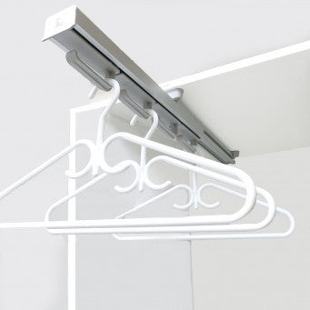 "Ambos ITALY - Hanger Rack (Product Size 20⅛"") - ZHG-405 HANGING SYSTEM FOR CLOSET and KITCHEN"