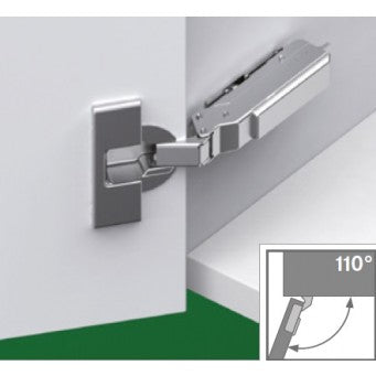 TIOMOS 110° Impresso Soft Close Inset Hinge (F017139332)