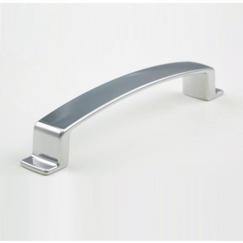 H-71267-128 Handle (Satin Nickel/ Chrome/ Matt Black Finished)