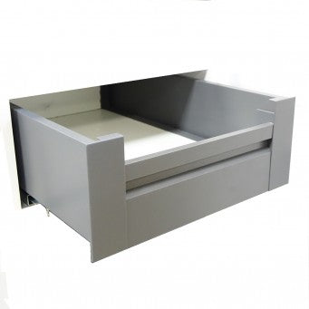 FIT-BOX Dark grey Inner Drawer Front Bracket (4 Items Available)