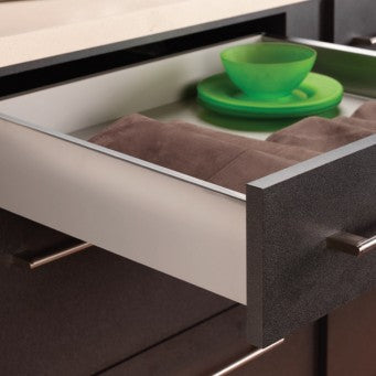 Nova Pro Deluxe Drawer H122mm Metallic (4 Size Available)