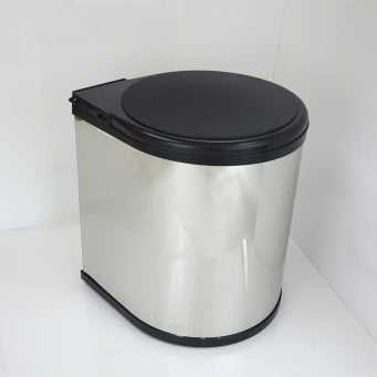 "Door-mounted Swing-out Waste Bin WB-501(W14.5"" D12.5"" H17.75"")/WB-502(W13.5"" D11"" H16"")"