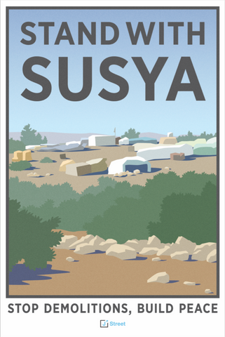 Stand with Susya Poster