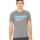 Refugees Welcome Unisex T-Shirts