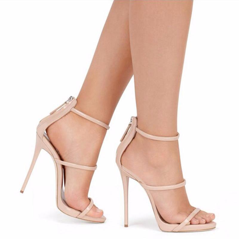 Strappy Barely There Sandals, Shoes - Mood:Fabulous | Find your style! Shop online women's clothing, accessories, shoes & more. Free shipping on orders over 50€.