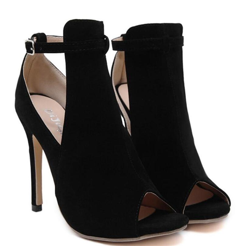 Cut Out Booties, Shoes - Mood:Fabulous | Find your style! Shop online women's clothing, accessories, shoes & more. Free shipping on orders over 50€.