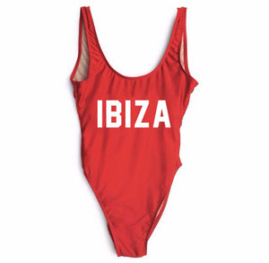 """Ibiza"" One-Piece Swimsuit, Swimwear - Mood:Fabulous 
