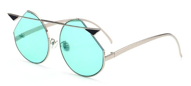 Round Metal Sunglasses, Eyewear - Mood:Fabulous | Find your style! Shop online women's clothing, accessories, shoes & more. Free shipping on orders over 50€.