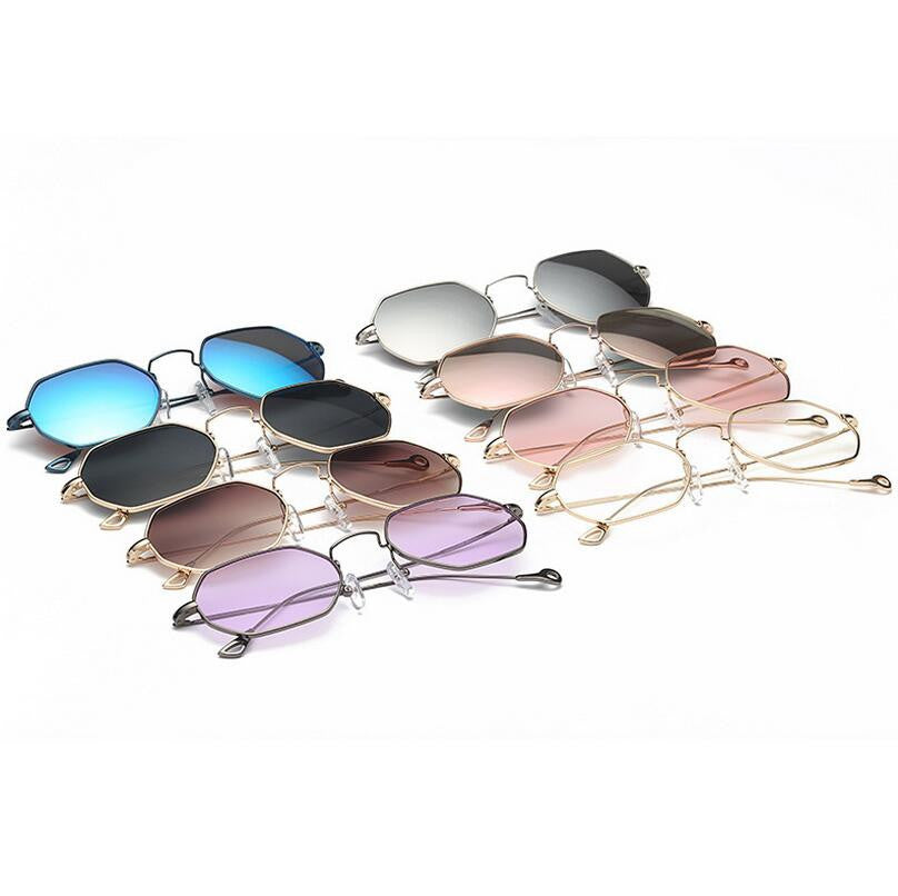Vintage Hexagon Mirror Sunglasses, Eyewear - Mood:Fabulous | Find your style! Shop online women's clothing, accessories, shoes & more. Free shipping on orders over 50€.