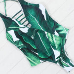 Leaf Print Cut-Out One-Piece, Swimwear - Mood:Fabulous | Find your style! Shop online women's clothing, accessories, shoes & more. Free shipping on orders over 50€.