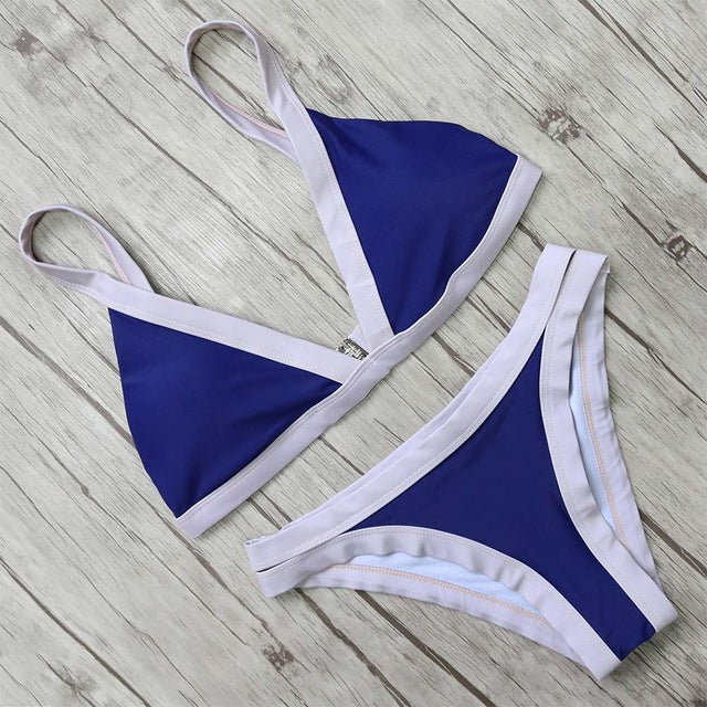 Two-Toned Bandage Bikini Set, Swimwear - Mood:Fabulous | Find your style! Shop online women's clothing, accessories, shoes & more. Free shipping on orders over 50€.