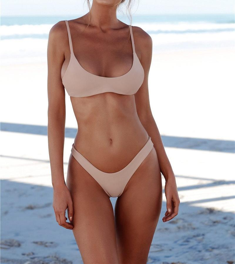 High Leg Bandage Bikini Set, Swimwear - Mood:Fabulous | Find your style! Shop online women's clothing, accessories, shoes & more. Free shipping on orders over 50€.
