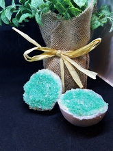 Load image into Gallery viewer, Green Aventurine Geode Bath Bomb