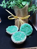 Green Aventurine Geode Bath Bomb  --Vegan Friendly--