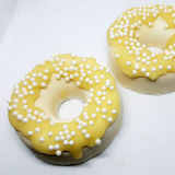 Homemade Cheesecake Doughnut Bath Bombs   --Vegan Friendly--