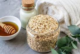 Oatmeal and Brown Sugar Facial Scrub