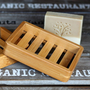 Natural Bamboo Soap Dishes Tray