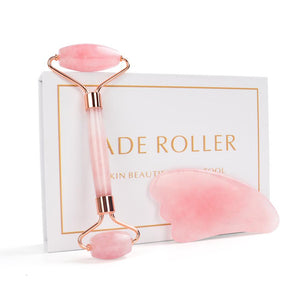 Rose Quartz Roller Face Massager