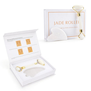 White Crystal Roller Set Anti Wrinkle