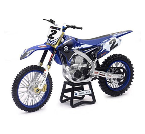 1:12 Yamaha YZ450F Cooper Webb #2 Dirt Bike Die-Cast