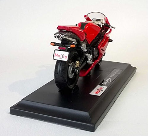1:18 Triumph Daytona 675 Red Motorcycle Die-Cast