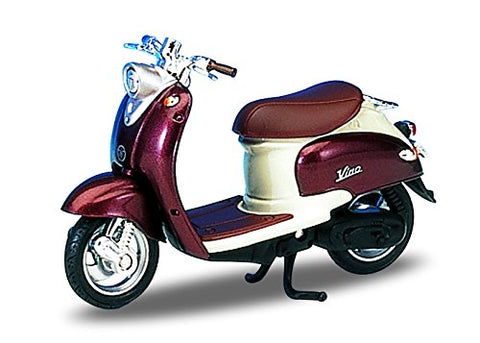 1:18 Copper Yamaha 1999 Vino YJ50R Scooter Motorcycle Die-Cast
