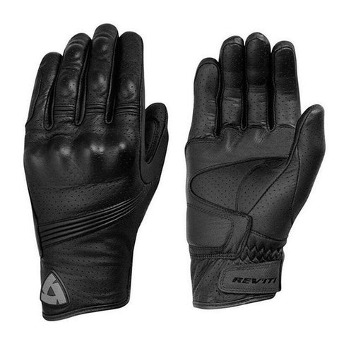 Breathable Racing Motorcycle Gloves - Genuine Leather