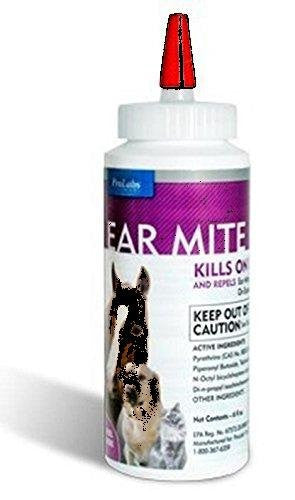 Ear Mites Treatment , flies, gnats, mosquitoes, lice and mange mites.repellent lotion for dogs, cats, horses, foals , puppies and kittens .