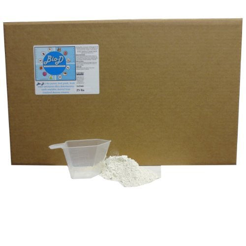 Bio-D Food Grade Diatomaceous Earth (25-Pound Box)