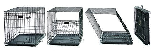 MidWest iCrate Double Door Folding Metal Dog Crate