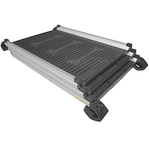 Titan 28 - 61 Telescoping Collapsible Pet Ramp Compact Portable Aluminum Dogs by Titan Ramps