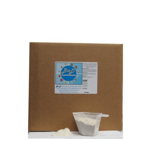 Bio-D Food Grade Diatomaceous Earth (15-Pound Box)
