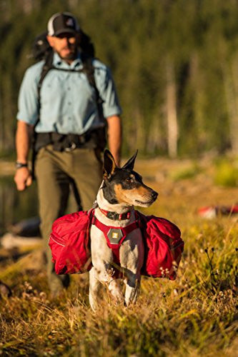 Ruffwear - Palisades Multi-Day Backcountry Pack for Dogs, Red Currant (2017), Small