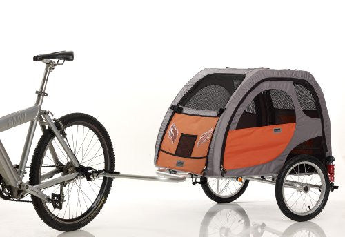 "PetEgo Comfort Wagon Dog Bike Trailer WITH SUSPENSIONS- Large - 35""L x 26""W x 24""H"
