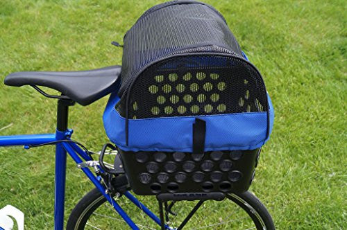 BiKASE Dairyman Rear Basket Pet Kit
