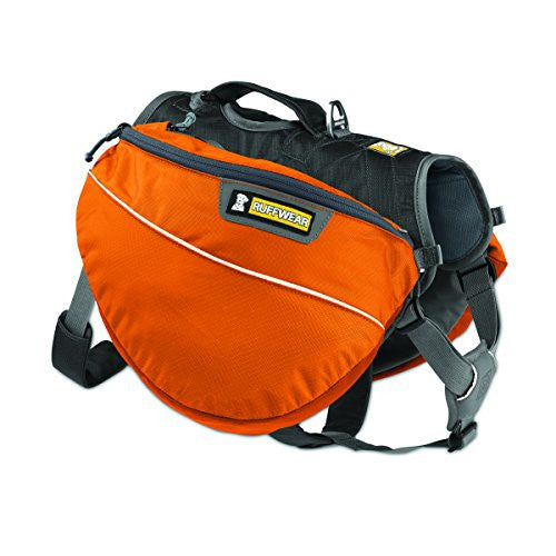 Ruffwear - Approach Full-Day Hiking Pack for Dogs, Campfire Orange, Large/X-Large