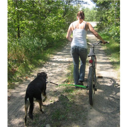 Woof Cycle Bike Trotter (Premium) Hands-Free Dog Bicycle Exercise Leash, Bike Attachment – Allows You To Safely Exercise Your Dog While Riding Your Bike (USA Made) Safety In Design