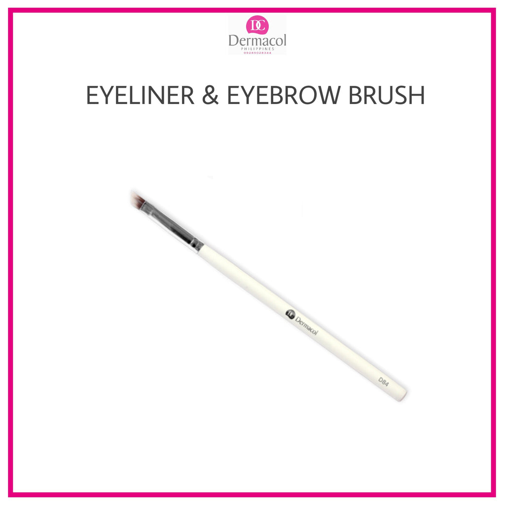 DERMACOL EYELINER & EYEBROW BRUSH