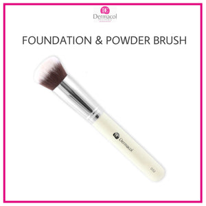 DERMACOL FOUNDATION & POWDER BRUSH