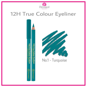 12H TRUE COLOUR EYELINER NO. 01 - TURQUOISE