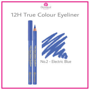 12H TRUE COLOUR EYELINER NO. 02 - ELECTRIC BLUE