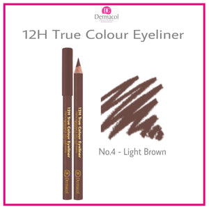 12H TRUE COLOUR EYELINER NO. 04 - LIGHT BROWN